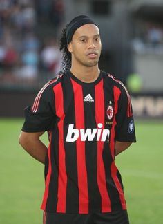 Ronaldinho now plays for AC Milan and the Brazilian national team