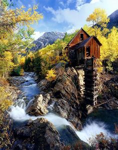 Old Mill, Crystal, Colorado  How can you travel around the world without…