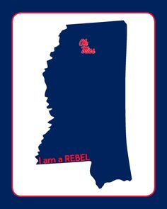 It's almost game time. Show your Ole Miss spirit with this free printable! Hotty Toddy!