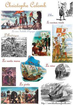 AAAAAAAAAAAAAAAAAAAAfiche explorateurs Christophe Colomb