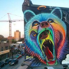 SHALAK Attack.. . #streetart
