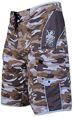 45f59cb40f07 Maui Rippers Men s Camo Board Shorts Review