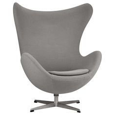 Atelier - Monochromatic - Fabric swivel lounge chair with metal legs/LOUNGE CHAIRS/SEATING/ATELIER BOUCLAIR Bouclair.com
