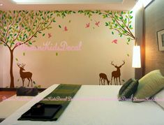 Wall Decal Nursery Wall Decal Woodland Forest by DreamKidsDecal