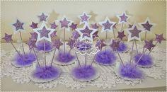 Ateliê Flores e Fitas: Centro de mesa em E.V.A Estrelinhas