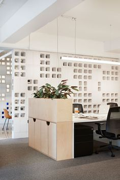 Ideas commercial office furniture design awards for 2019 Cool Office Space, Office Space Design, Office Furniture Design, Office Workspace, Small Office, Office Designs, Furniture Ideas, Ceo Office, Office Shelving