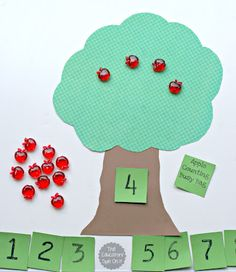 Counting Apples Activity from the Educators' Spin On It