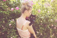 {Lady and her lady} by Miss Samantha Smith, via Flickr
