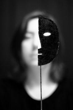 I wanna take off my self imposed mask .