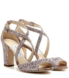 29a21298e776 Carrie 85 glitter embellished leather sandals