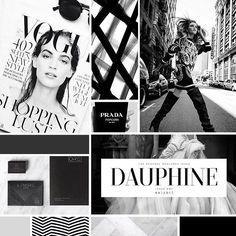 Our inspiration board for creating the new @theideahunter brand. #moodboard #fashion #styleboard #design #branding #blackandwhite #highfashion #branddesign #brandrelaunch #rebranding #labcreative