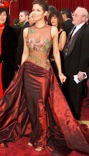 Halle Berry in Elie Saab - Oscars 2002  [THE dress]  [or 'how Elie Saab became my favourite designer']