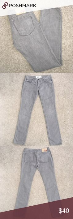 Blue Cult Elite Jeans Gray Size 31 Worn once.  Distressed look.  Length is 44 inches, inseam is 34 inches.  No stretch, 100% cotton. Blue Cult Elite Jeans Straight Leg