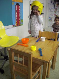 Een kijkje in de 2de kleuterklas!: Goudlokje & de 3 beren