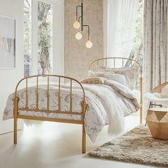【シングル】カノーロ ベッド ゴールド(ゴールド) Francfranc(フランフラン)公式サイト|家具、インテリア雑貨、通販
