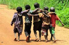 "Donde existe una necesidad nace un derecho."" ~Eva Perón     .....Zambia.  All for one and one for all..."