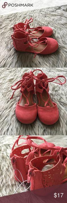 Cat & Jack toddler pink sandals Cat & Jack toddler girls' ballet flats. Color: coral. NEW WITHOUT TAGS Cat & Jack Shoes