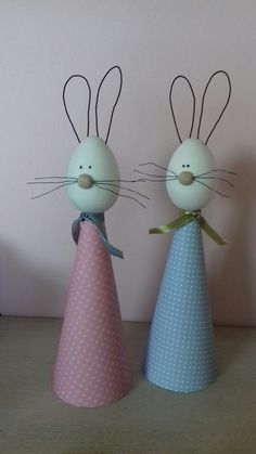 Zając Egg Crafts, Bunny Crafts, Easter Crafts, Diy And Crafts, Crafts For Kids, Arts And Crafts, Spring Crafts, Holiday Crafts, Happy Easter