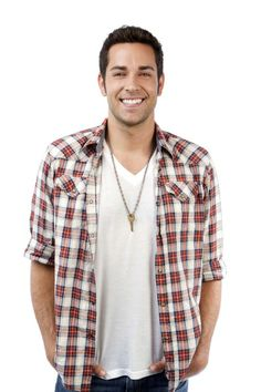 There is no better picture; giving key, flannel and that face. Damn you Zachary Levi