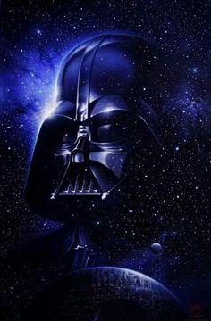 Darth vader artwork, darth vader tattoo, star wars raumschiffe, star wars d Star Wars Fan Art, Star Wars Film, Star Wars Poster, Star Trek, Darth Vader Star Wars, Anakin Vader, Darth Vader Artwork, Darth Vader Images, Darth Sith