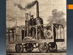 "The ""Tom Thumb,"" the first steam locomotive in America, reconstruction, built by Peter Copper. Its first succesful trip was made in 1830, from Baltimore to Ellicott Mills, Maryland."