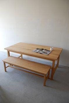 Frame table/ Frame long bench