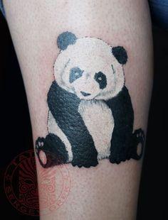 panda tattoo - Google Search