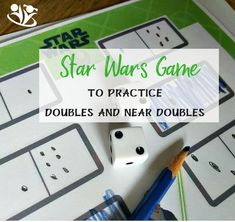 This Star Wars game makes practicing doubles and near doubles so much fun your kids will beg you to print out more game pages.