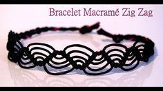 Bracelet macramé débutant Zig Zag