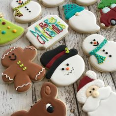 """100 Likes, 7 Comments - Cookie Madness ABQ (@cookiemadnessabq) on Instagram: """"Christmas cookies are the most fun! #sugarcookies #royalicing #christmascookies #albuquerque"""""""