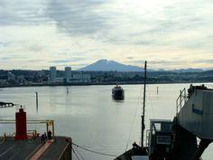 Puerto Montt, desde el puerto.
