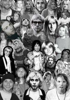 Kurt Cobain collage ❤