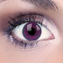 Violet Funky Eyes Contact Lenses