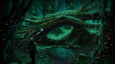 Druid forest by Ellixus.deviantart.com on @DeviantArt