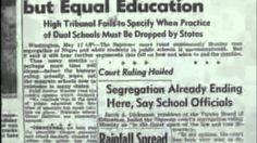 Brown vs Board of Education (1954)