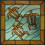Glass mosaic pattern
