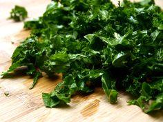 Kale émincé