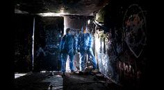 Brooks and Brydon in an Edinburgh Bunker Manchester Uk, Ghostbusters, Bunker, Edinburgh, Exploring, Urban, Artwork, Photography, Image