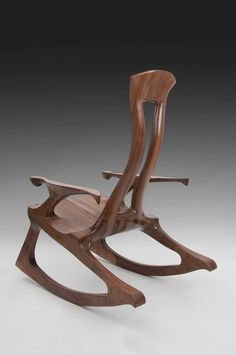 When it comes to the wood sculpture of Kevin DesPlanques, odds are you won't just be admiring his artistic pieces—you'll also be sitting in them.