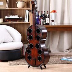 Cheap table table, Buy Quality european table directly from China table rack Suppliers: Wooden European wine wine. The tea table Cello, Knife Block, Wine Rack, Home Furniture, Table, Living Room, Guitar, Stuff To Buy, Tea