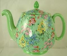 This is the prettiest chintz teapot! Shelley teapot images - Google Search