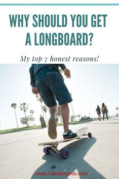 """Why get a longboard, you ask? There are countless good reasons! To get around town fast and easy; to join a new social group; to have a great new hobby to do with the family; to get or stay fit; to get an adrenaline fix; to learn a  new artistic discipline...  Learn more!  (Photo credit: """"Davy Wavin' Back"""" by Christian Rosillo - Loaded Boards)"""