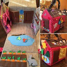 Items op Etsy die op Drukke Board BUS met voelde Letters(with the child's name or with the numbers 1 to sensorische Montessori speelgoed, houten speelgoed, peuter rustig spel lijken Travel Toys For Toddlers, Busy Boards For Toddlers, Toddler Travel, Games For Kids, The Doors, Toddler Toys, Kids Toys, Ems, 2nd Birthday Gifts