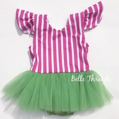 f3cd9a74e0b7 Watermelon Dreams Tutu Playsuit made by Belle Threads Baby Girl 1st  Birthday