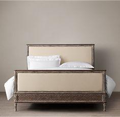 Louis XVI Treillage Bed With Footboard