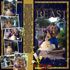If I have a daughter one day then I want her to wear that and my husband to wear the beast.