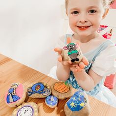 """Roberts Family's Instagram post: """"We enjoy painting rocks - So we were inspired to make some Disney Story Stones! What are Disney Inspired Story Stones? They are stones we…"""" Story Stones, Adventures By Disney, Disney Inspired, Crafts For Kids, Rocks, Instagram Posts, How To Make, Painting, Inspiration"""