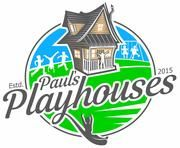 Alluring yet quaint, the Country Cottage playhouse plan will help your kids get away from it all. Incorporates 2 stories, warp around porch and shed windows.