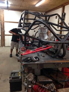 Rzr Chassis in progress built by Razr Sharp Customs