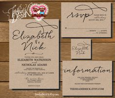 Free Printable Online Wedding Invitations Templates Pinteres